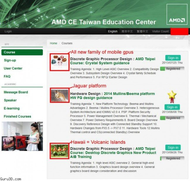 AMD Veranstaltung in Taiwan