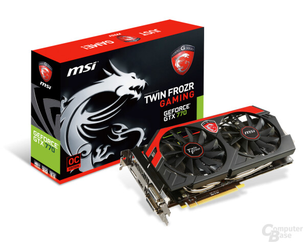 MSI GeForce GTX 770 TwinFrozr Gaming 4GB