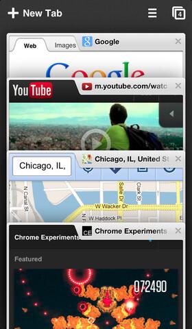 Chrome für iOS in der Version 28.0.1500.12