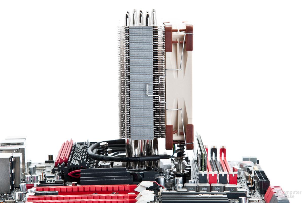 Der NH-U12S soll keine RAM-Inkompatibilitäten verursachen