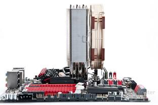 Auch der NH-U14S gibt sich gutmütig bei der RAM-Kompatibilität