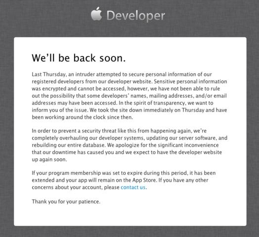 Stellungnahme von Apple