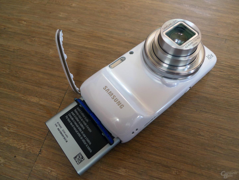 Samsung Galaxy S4 zoom - Akku-Schacht