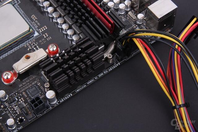 4- oder 8-Pol-Anschluss für die CPU