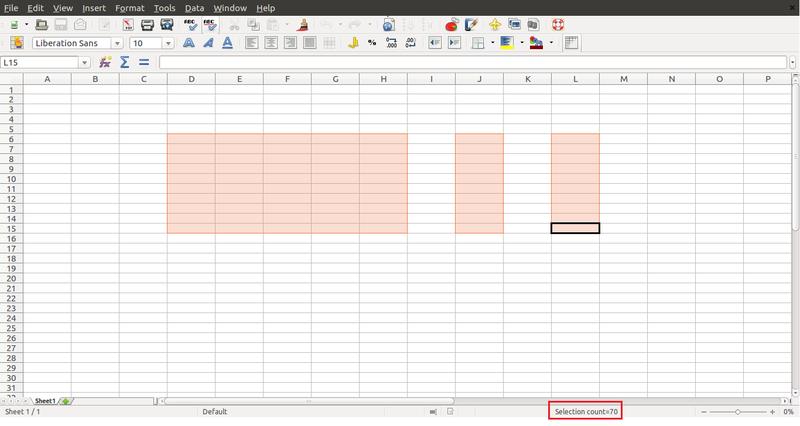 LibreOffice 4.1 Calc