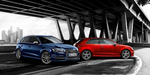 Audi S3 Sportback (blau)