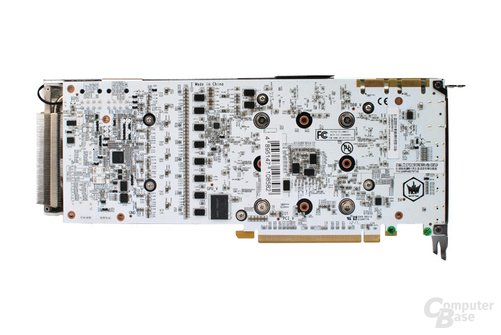 Galaxy GeForce GTX 770 HOF Rückseite