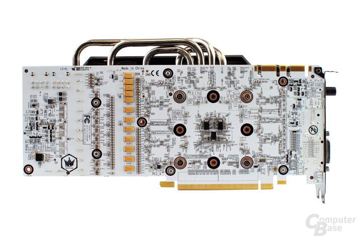 Galaxy GeForce GTX 780 HOF Rückseite