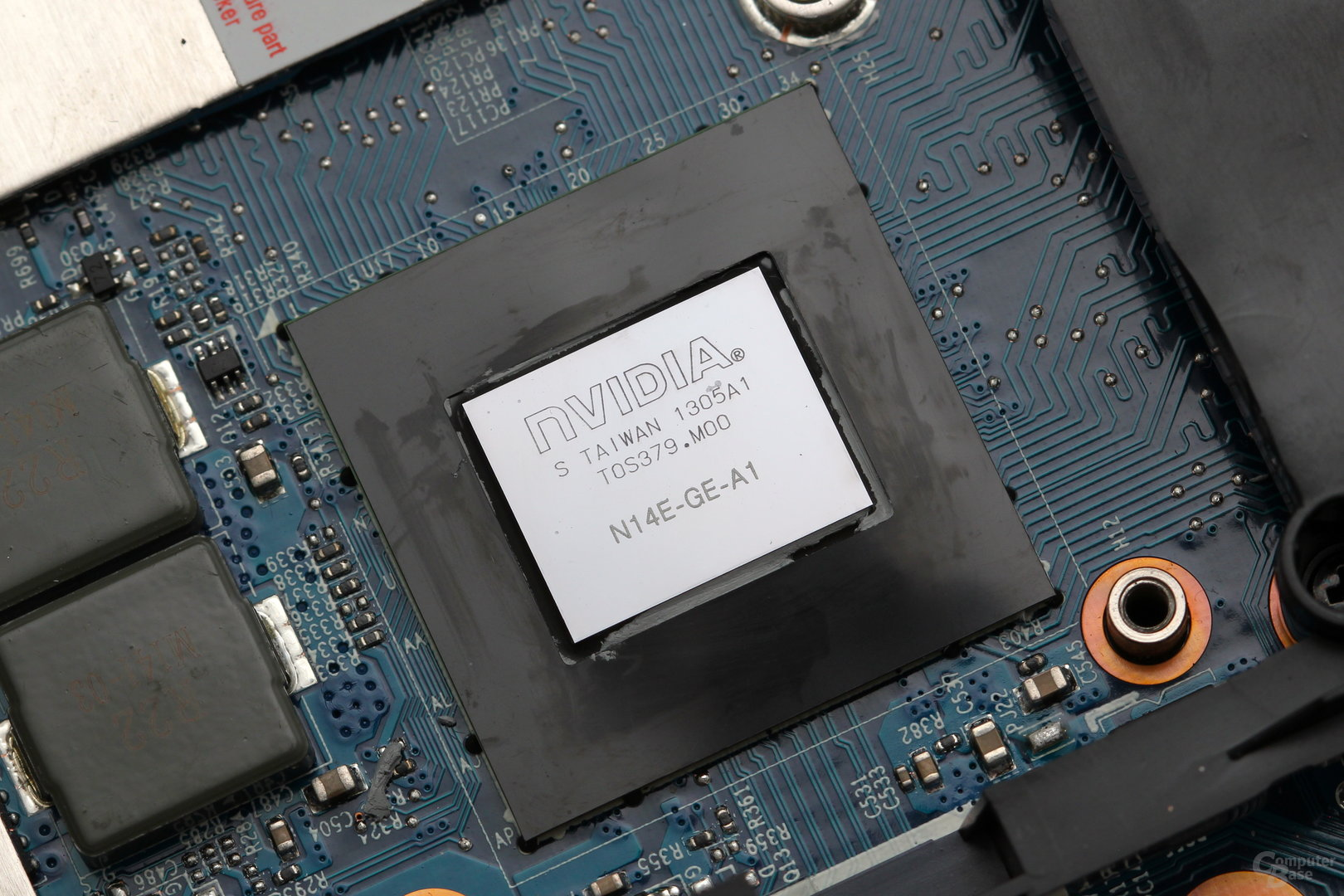 GeForce GTX 765M, fest verlötet