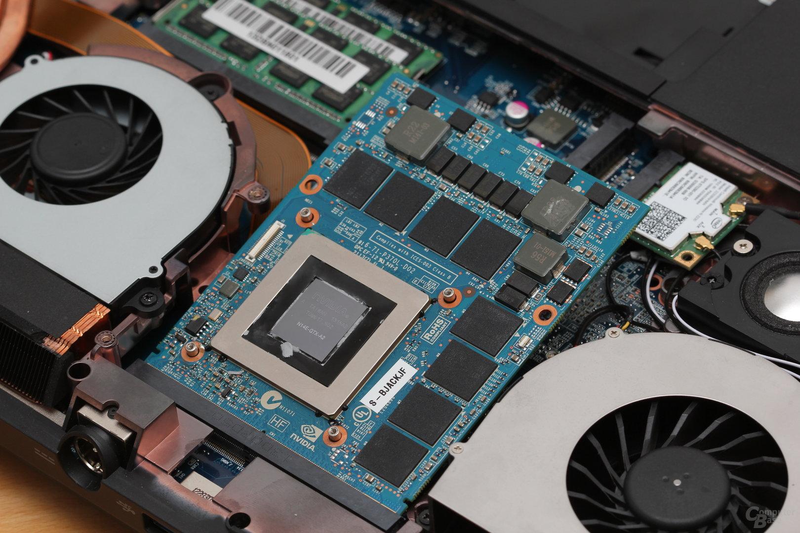 GeForce GTX 780M auf MXM-Modul