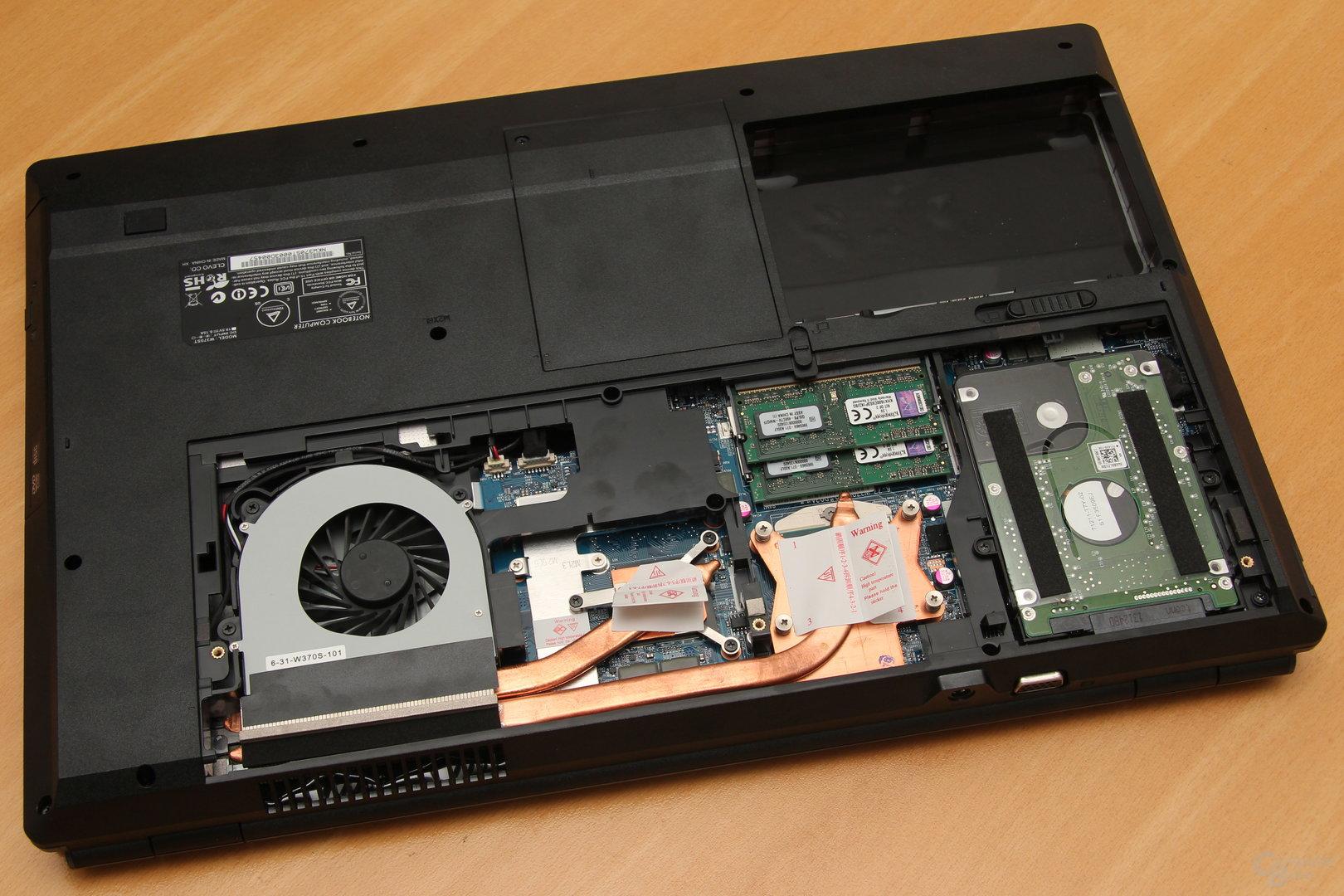 HawkForce W370ST – Hardware