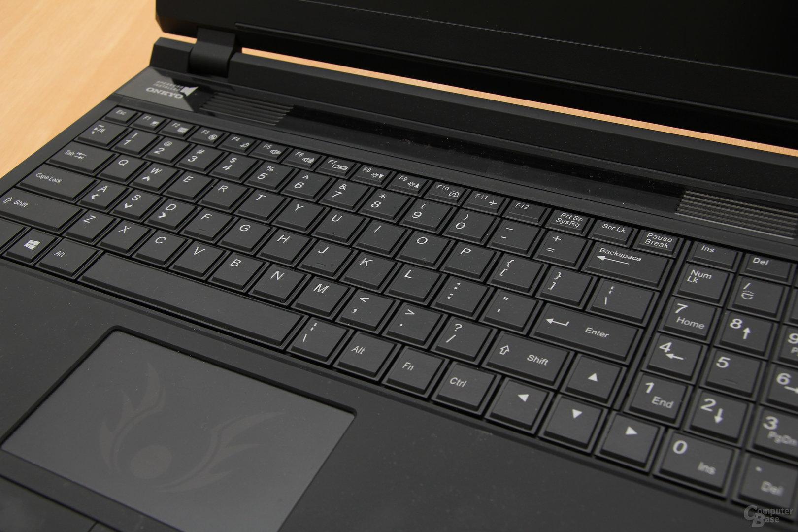 Schenker XMG P503 Pro - Tastatur