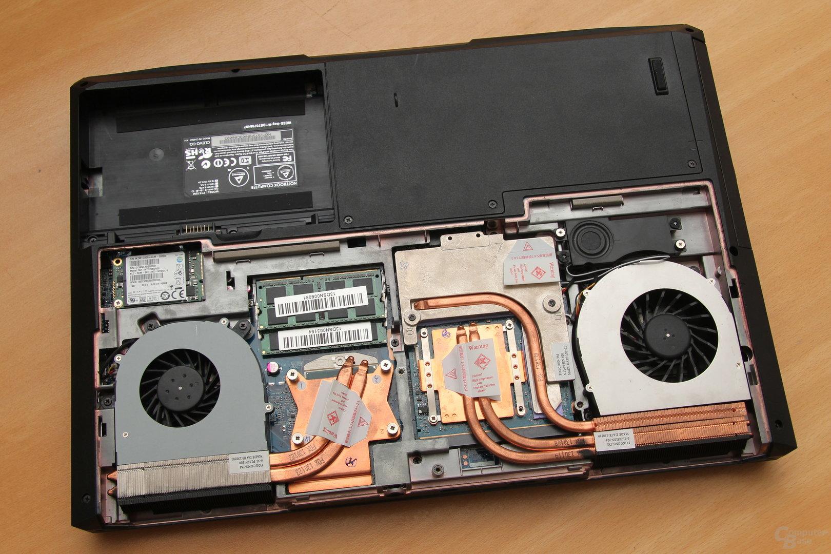 Schenker XMG P503 Pro - Hardware