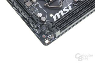 MSI Z87I - Speicherbänke vs. PCIe