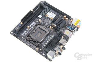 ASRock Z87E-ITX - Draufsicht