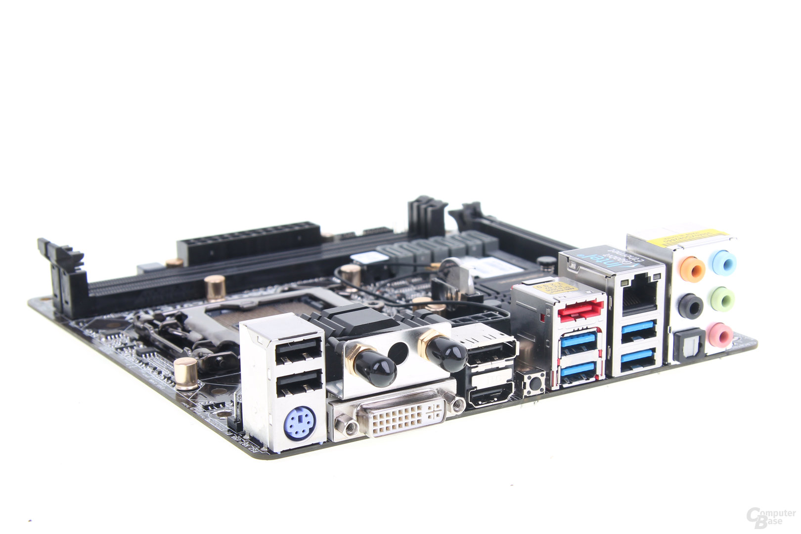 ASRock Z87E-ITX - Slotblende