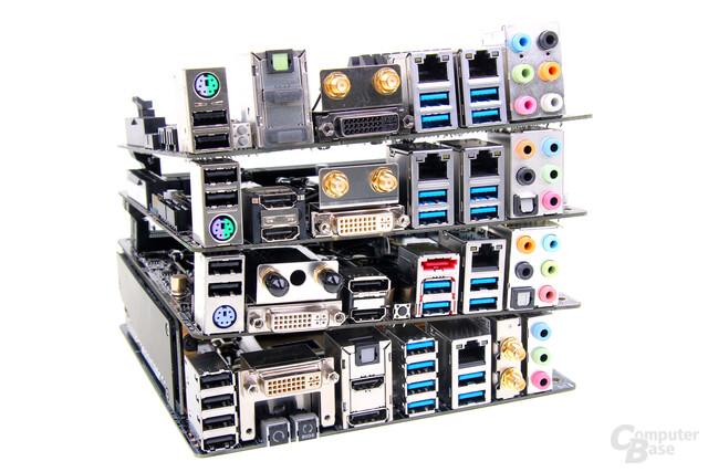 """Vier Mal Mini-ITX für Intels """"Haswell"""""""