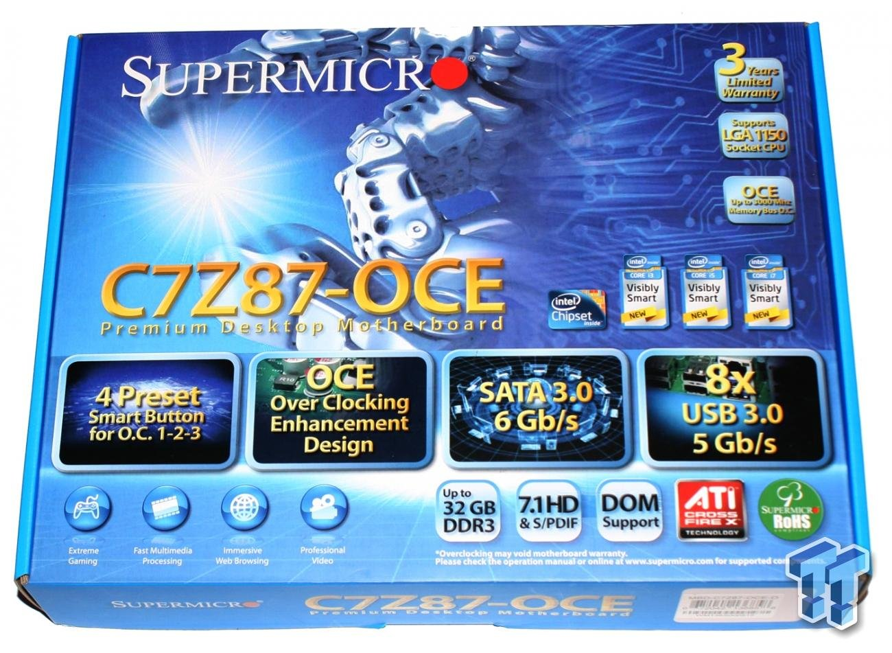 Supermicro C7Z87-OCE