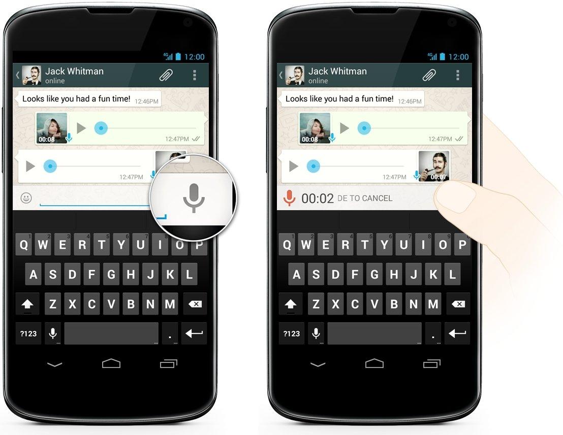 WhatsApp Push-to-Talk