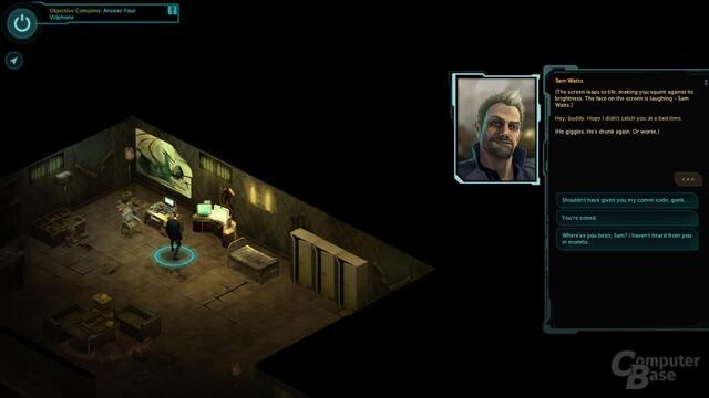 Shadowrun Returns – Dialoge und Beschreibungen tragen Welt und Story