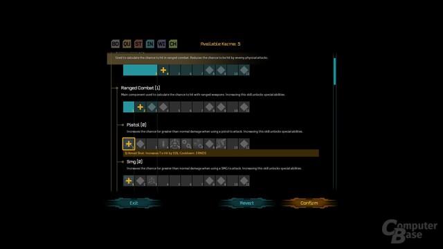 Shadowrun Returns – Charakterentwicklung