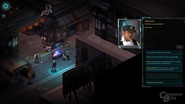 Shadowrun Returns – So viele Dialogoptionen gibt es selten