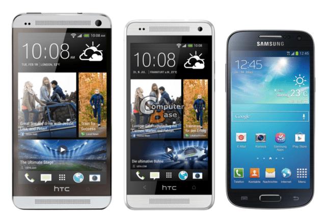 One / One mini / Galaxy S4 mini