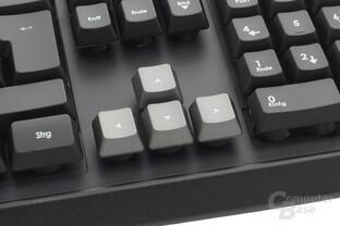 Gaming-Keycaps und Oberflächenstruktur