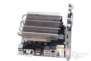 Alternativkühler auf ASRock Z87E-ITX
