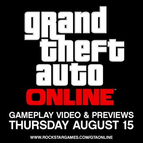 Ankündigung zur Präsentation von GTA Online
