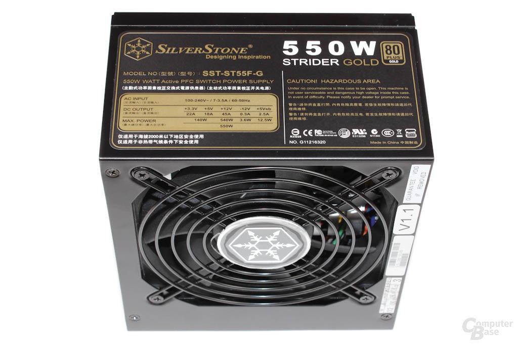 SilverStone Strider Gold 550 Watt