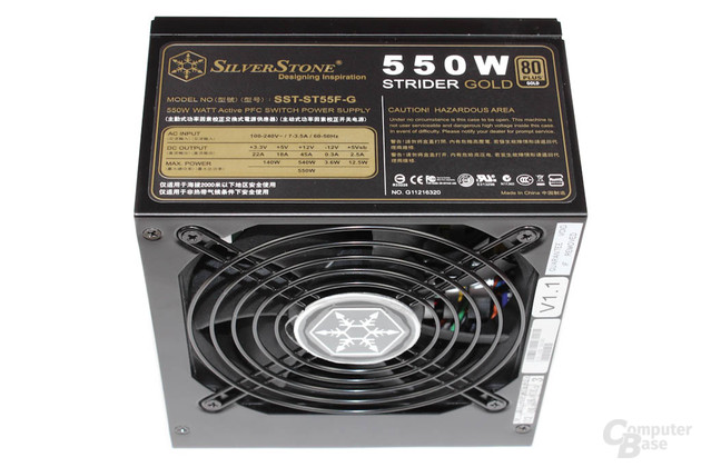 SilverStone Strider Gold 550 Watt