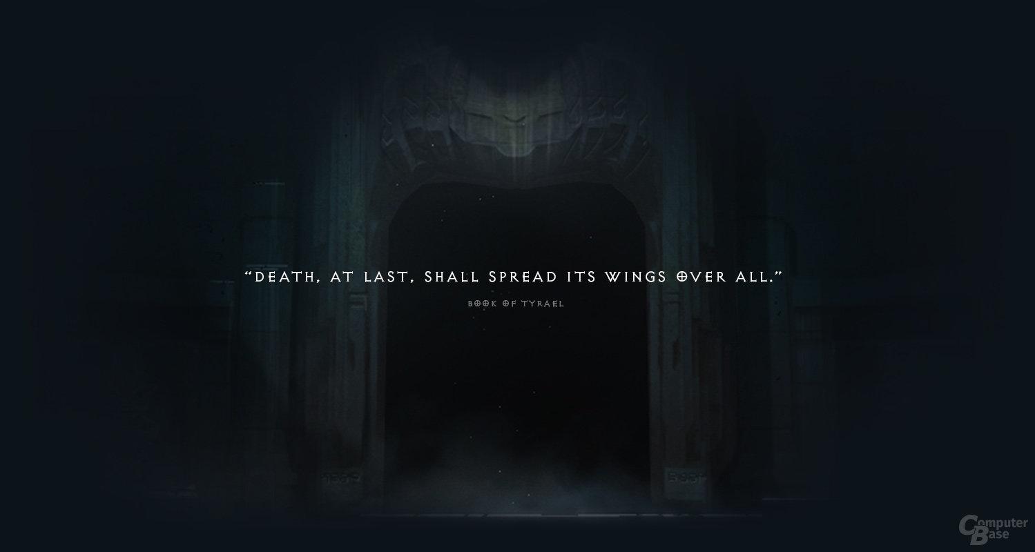 Grafik der Teaser-Seite zur Diablo-3-Erweiterung