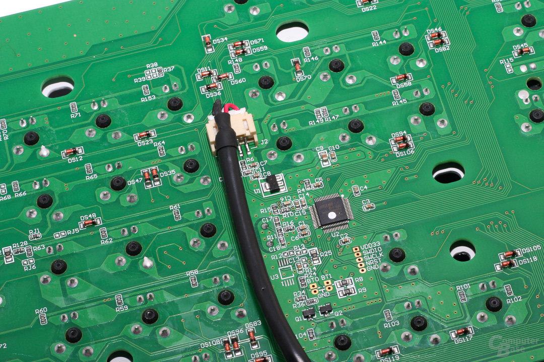 Verbindung zum I/O-Panel