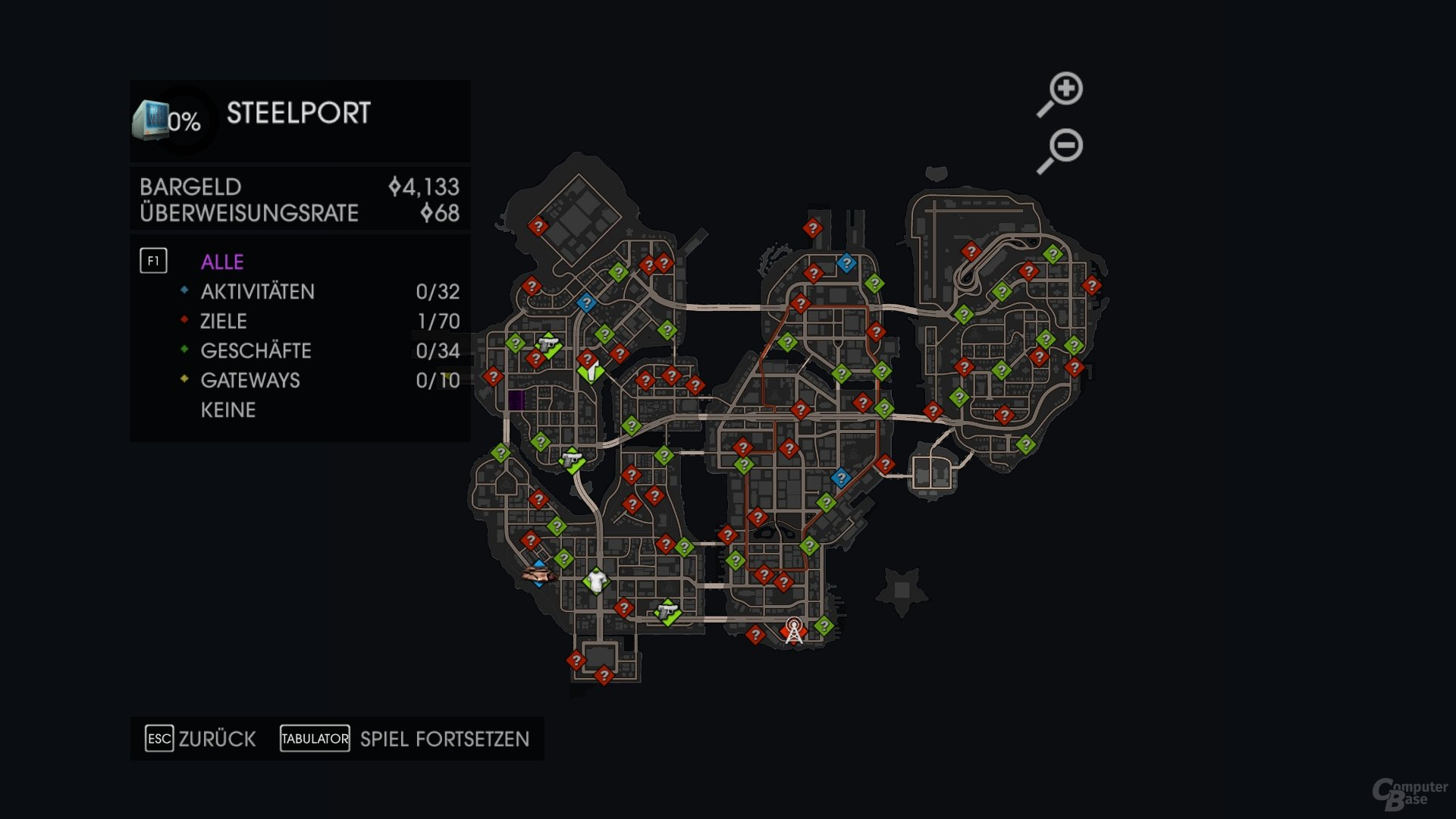 Bilder - Saints Row IV im Test: Abgedrehter Matrix-Klon - ComputerBase