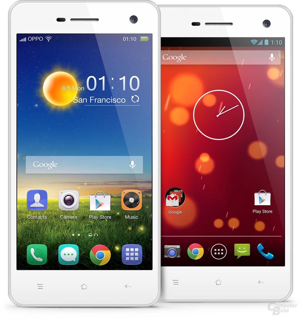 Oppo R819 (Stock Android und Color ROM)