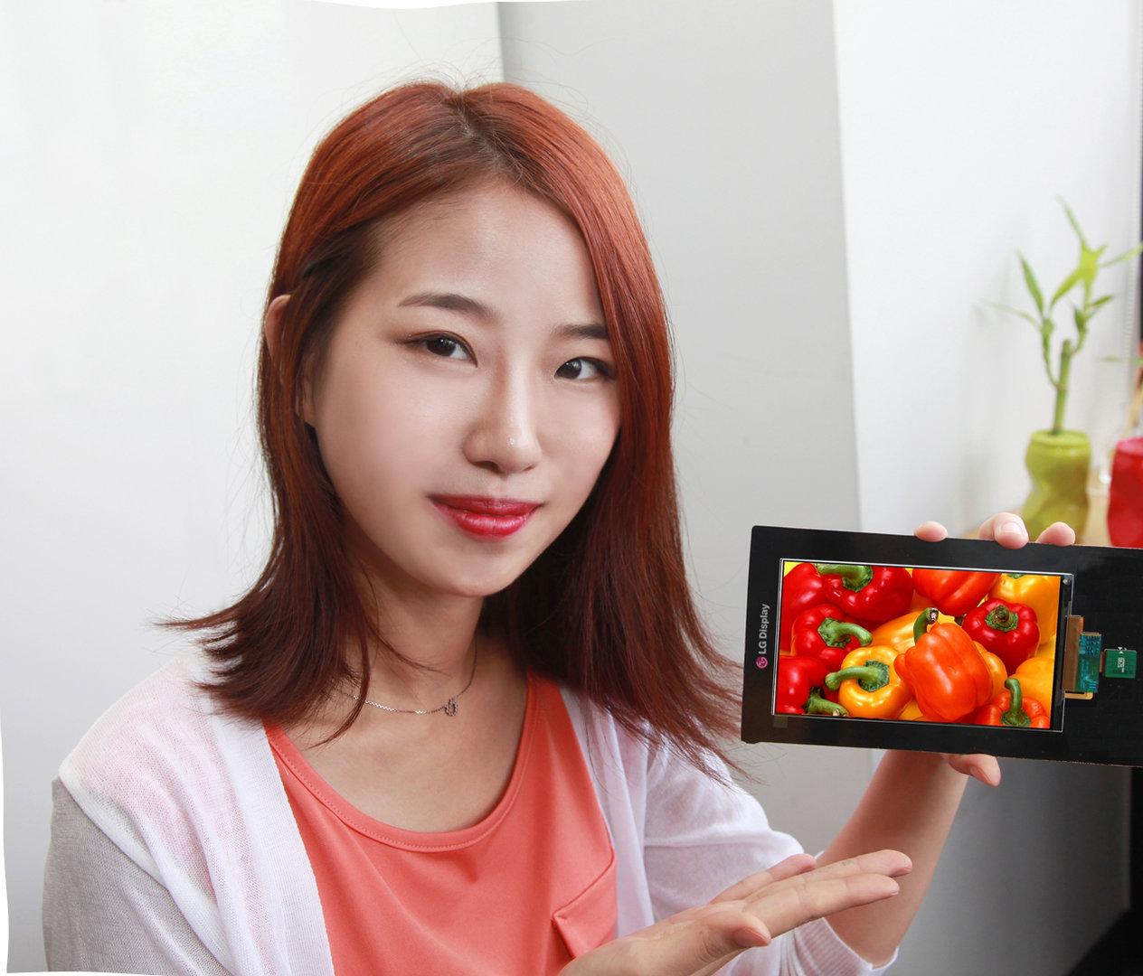 5,5 Zoll Display mit 2.560 × 1.440 Pixeln