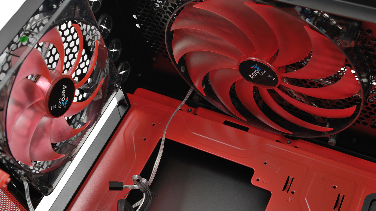 Aerocool GT-S im Test: Design sticht Funktion