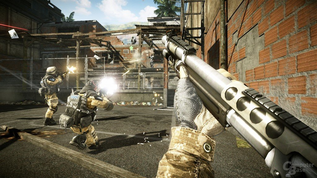Warface: Favela Setting
