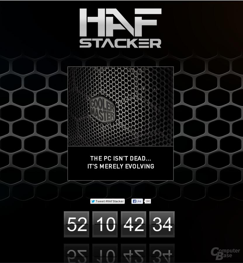 Cooler Master HAF Stacker: Teaser