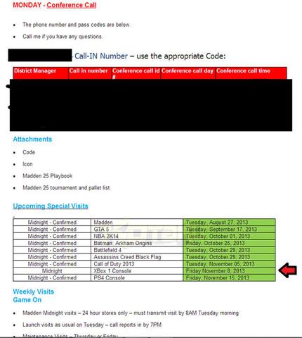 Info-Mail nennt Termin für Xbox One
