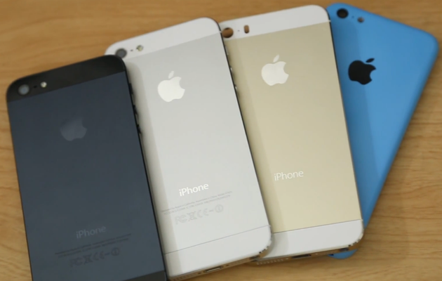 iPhone 5S und iPhone 5C (blau)?