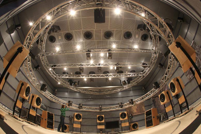 Akustiklabor des Fraunhofer Institutes