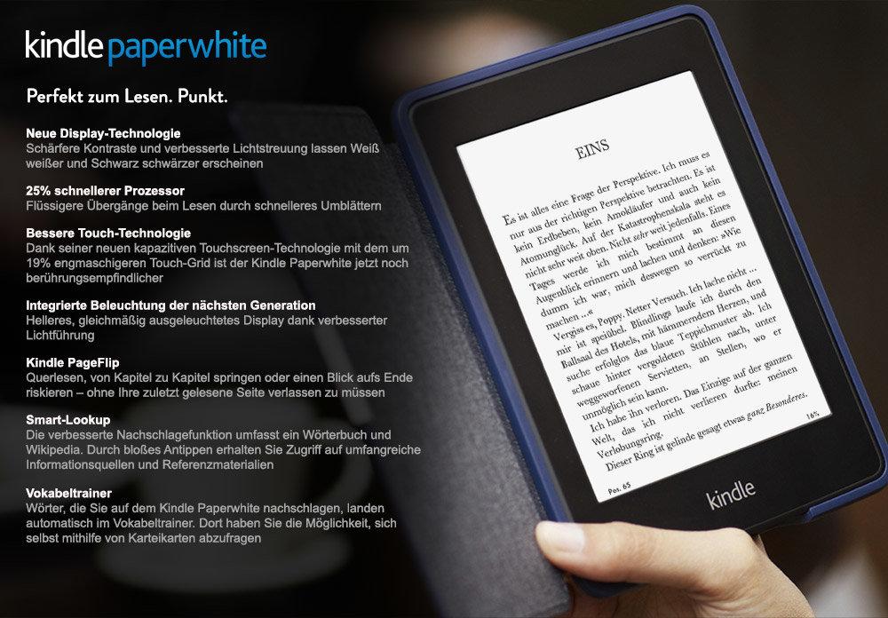 Das neue Amazon Kindle Paperwhite