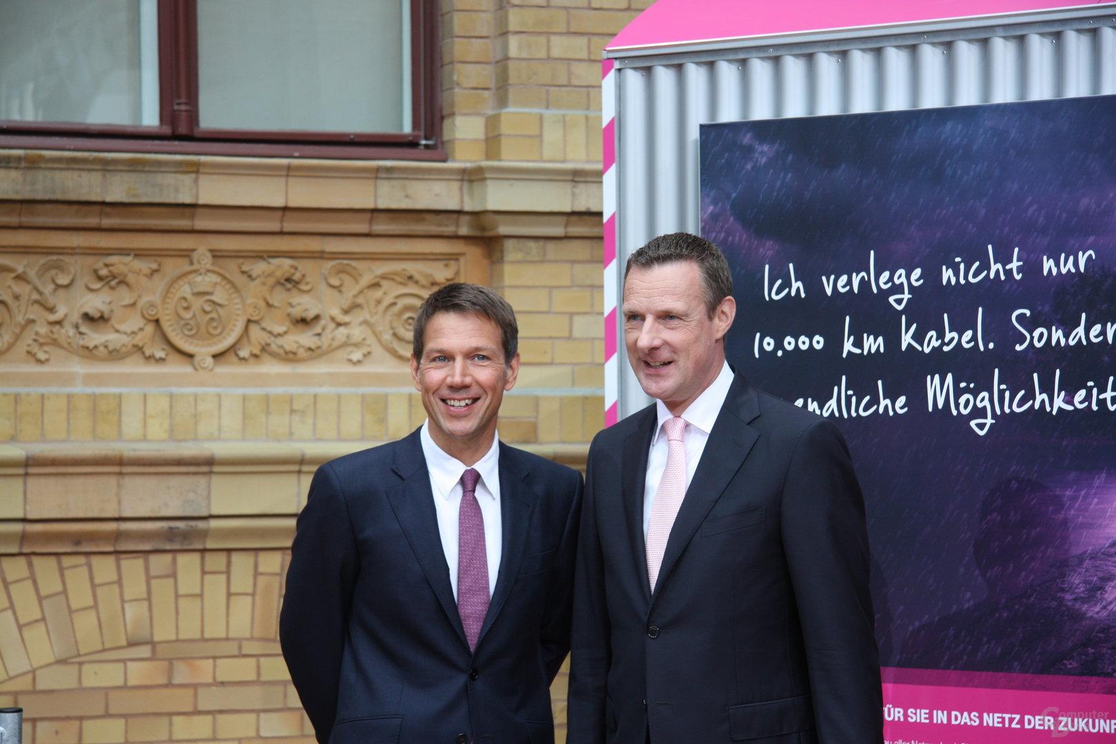 René Obermann & Niek Jan van Damme