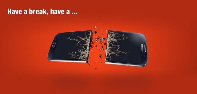 Nokia-Werbung