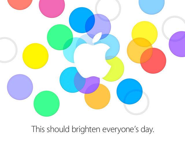 Apples Einladung für den 10. September