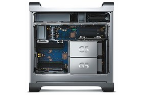 Apple Power Mac G5 im Inneren