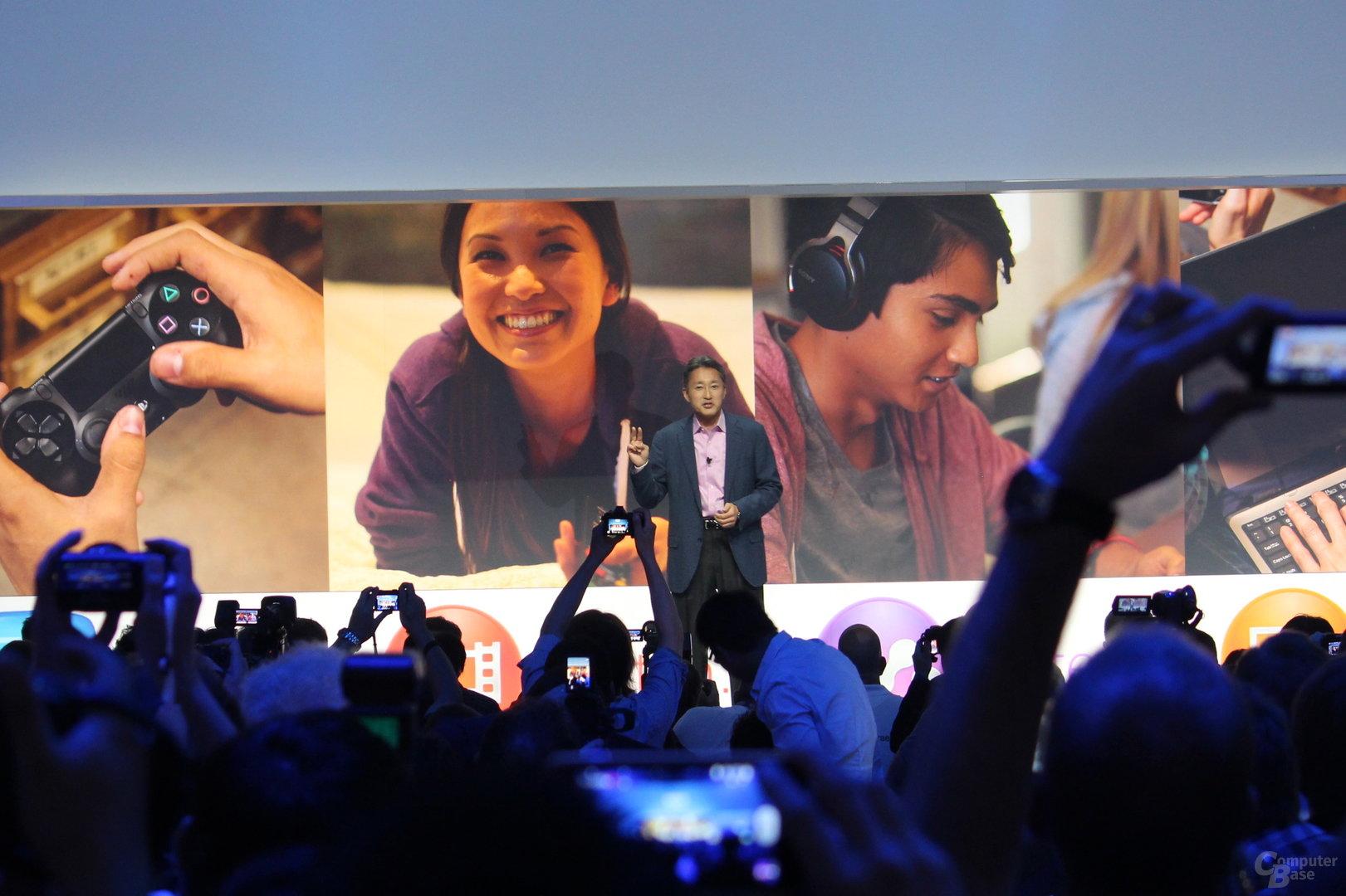 Sony Pressekonferenz zur IFA 2013