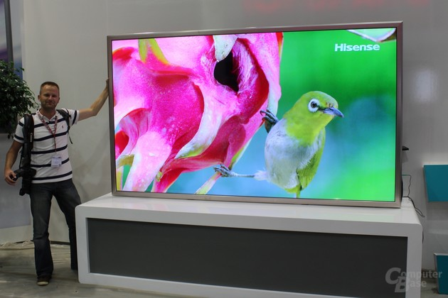 Hisense 110 Zoll Ultra-HD Fernseher